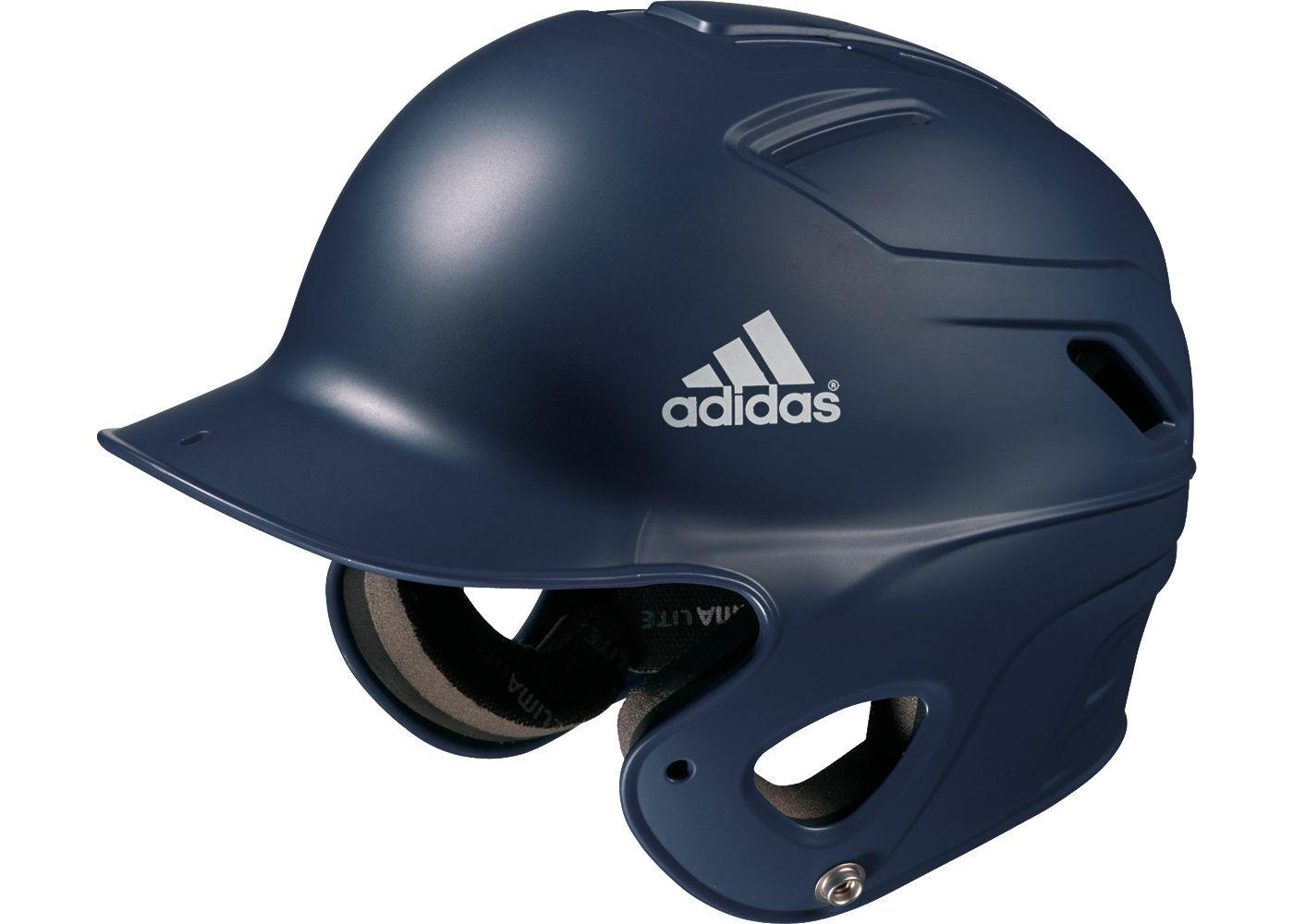 adidas OSFM Matte Triple Stripe Batting Helmet