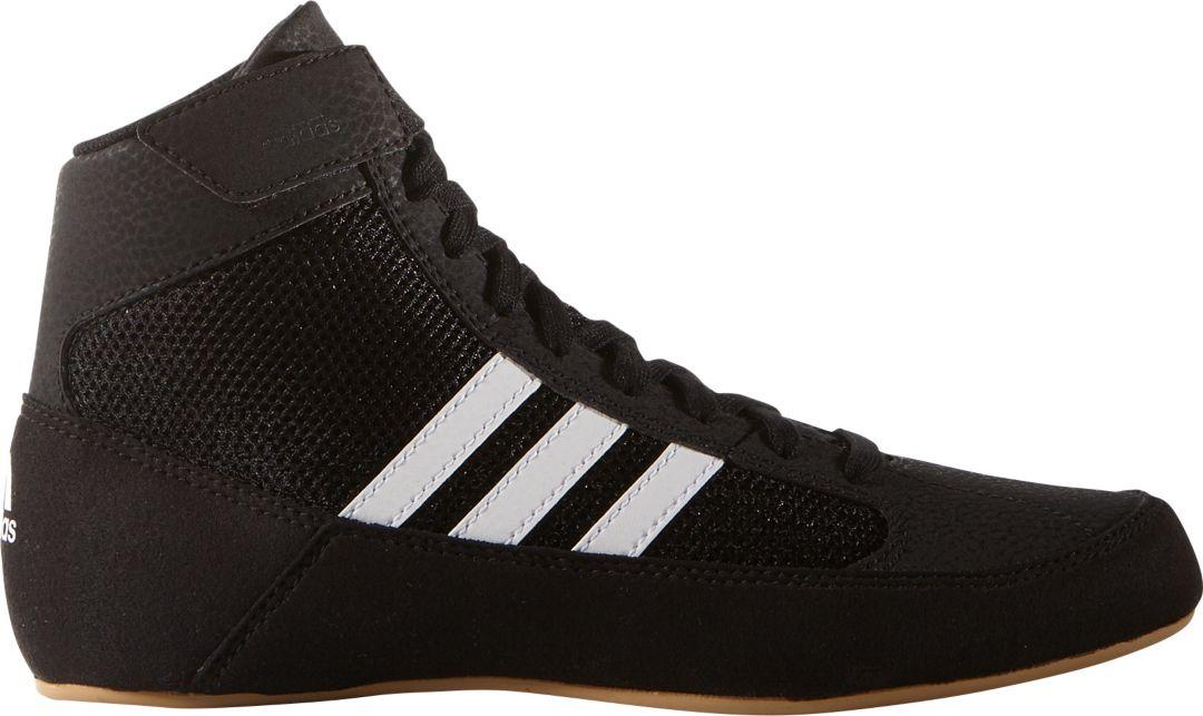 voittamaton x luistella kengät myynti vähittäiskauppias adidas Kids' HVC Wrestling Shoes