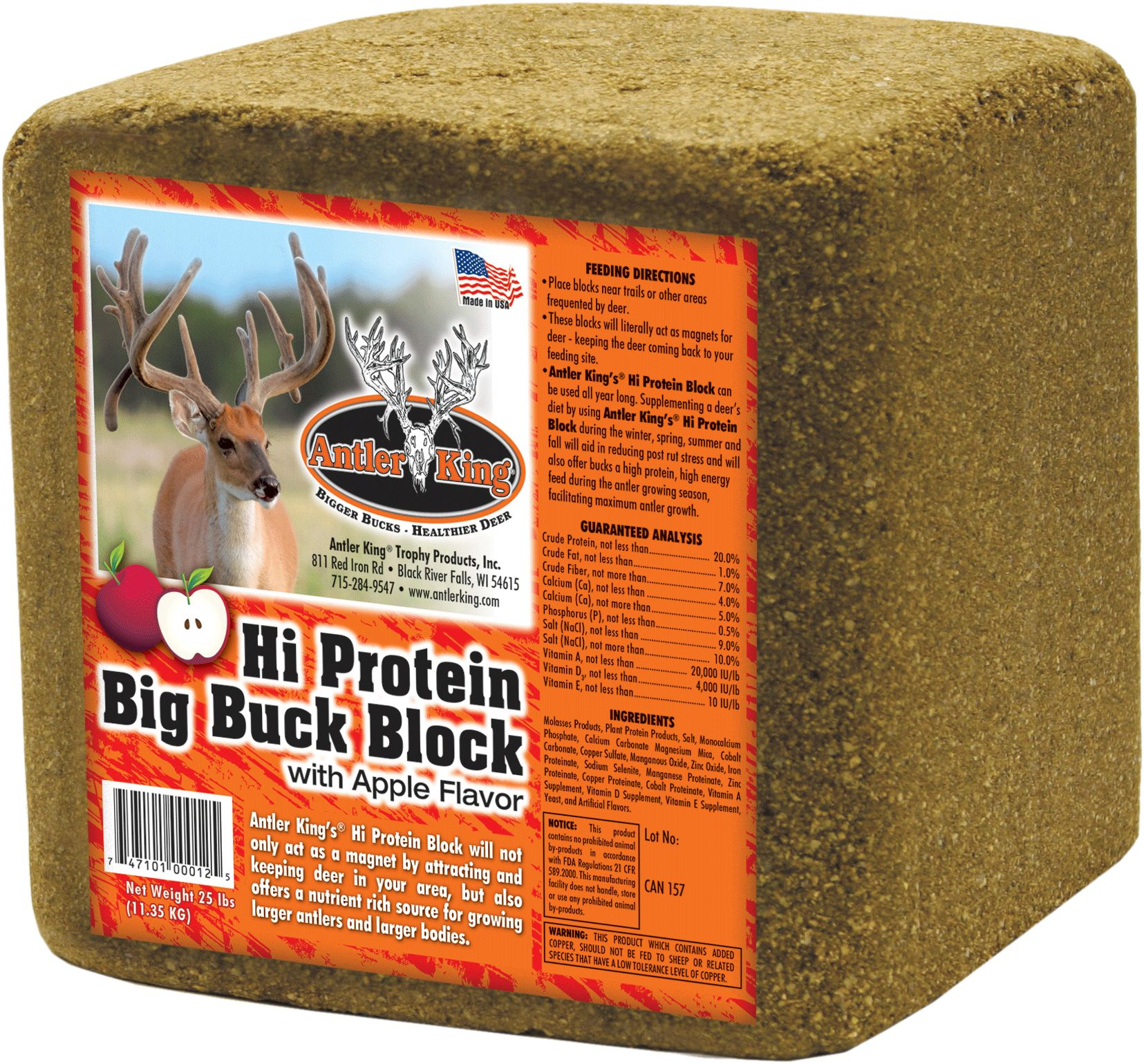Antler King Hi Protein Big Buck Block thumbnail