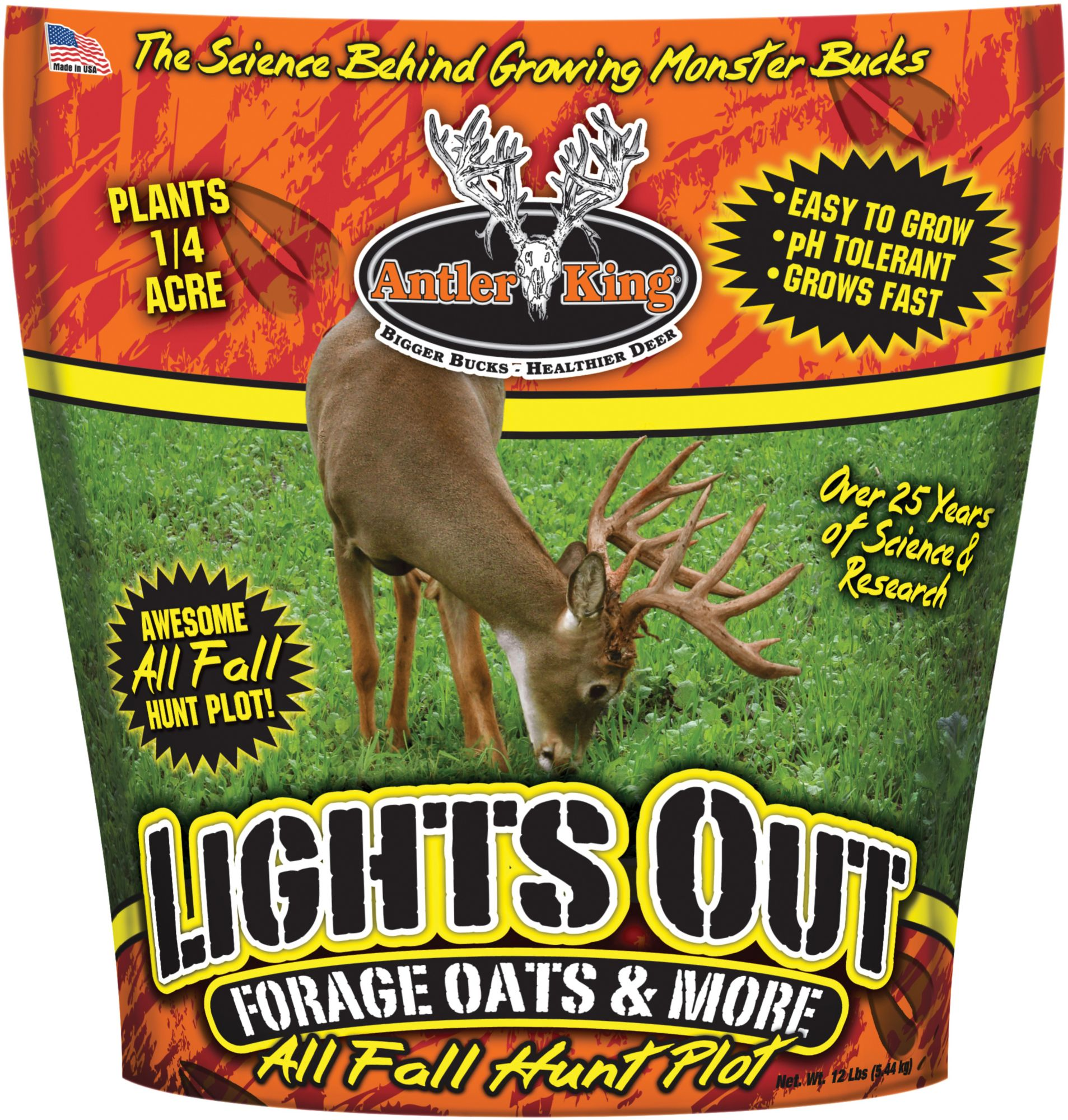 Antler King Lights Out Forage Oats Food Plot Seed thumbnail