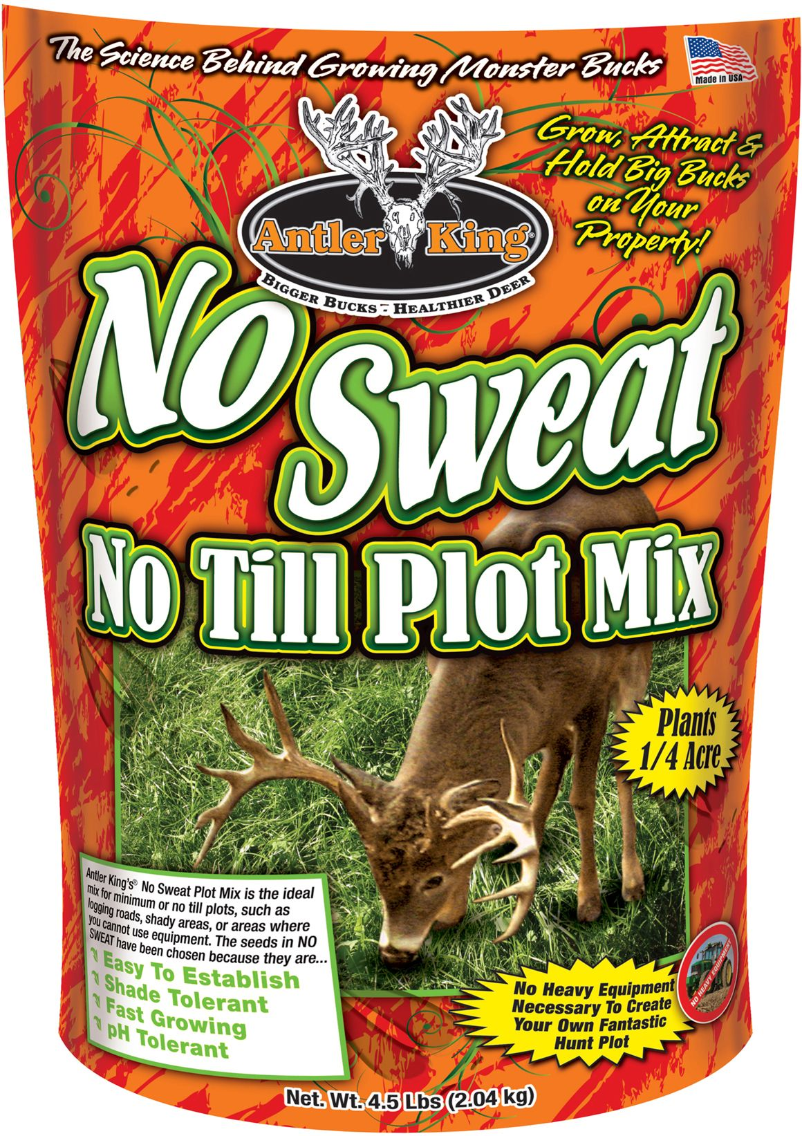 Antler King No Sweat No Till Food Plot Seed thumbnail