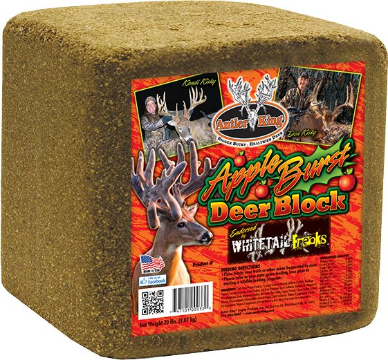 Antler King Apple Burst Block Deer Mineral thumbnail
