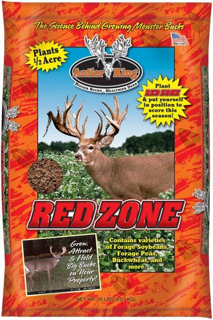 Antler King Red Zone 20 Pound Deer Plot Food