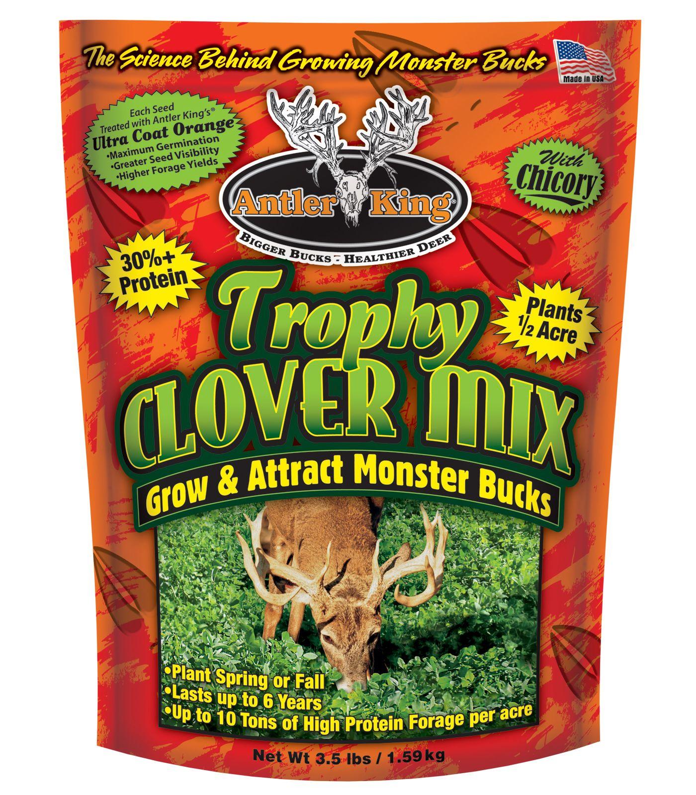 Antler King Trophy Clover Mix 3.5 Pound Deer Seed