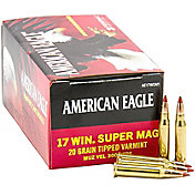 American Eagle .17 WIN Super Magnum Rimfire Rifle Ammunition
