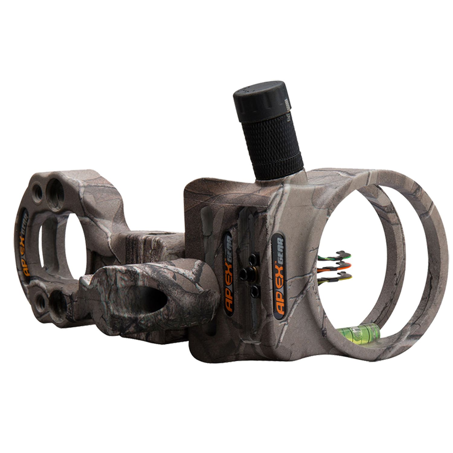 Apex Gear Tundra 3 Pin Bow Sight, Ambidextrous, Right/left Hand, Brown