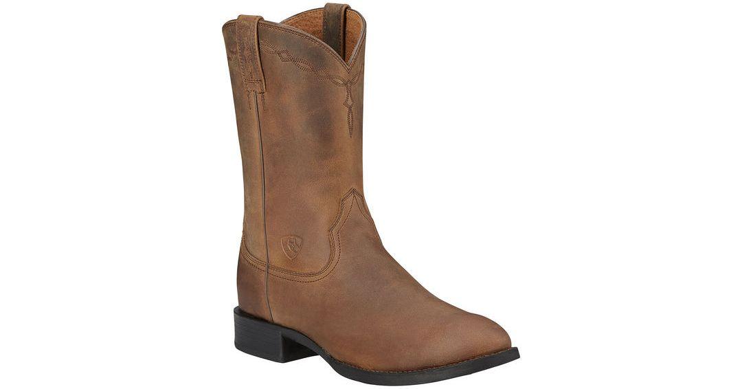 c642fdbfbaf Ariat Men's Heritage Roper Western Boots