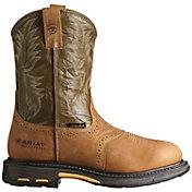 Ariat Men's Workhog Pull-On Waterproof Composite Toe Work Boots