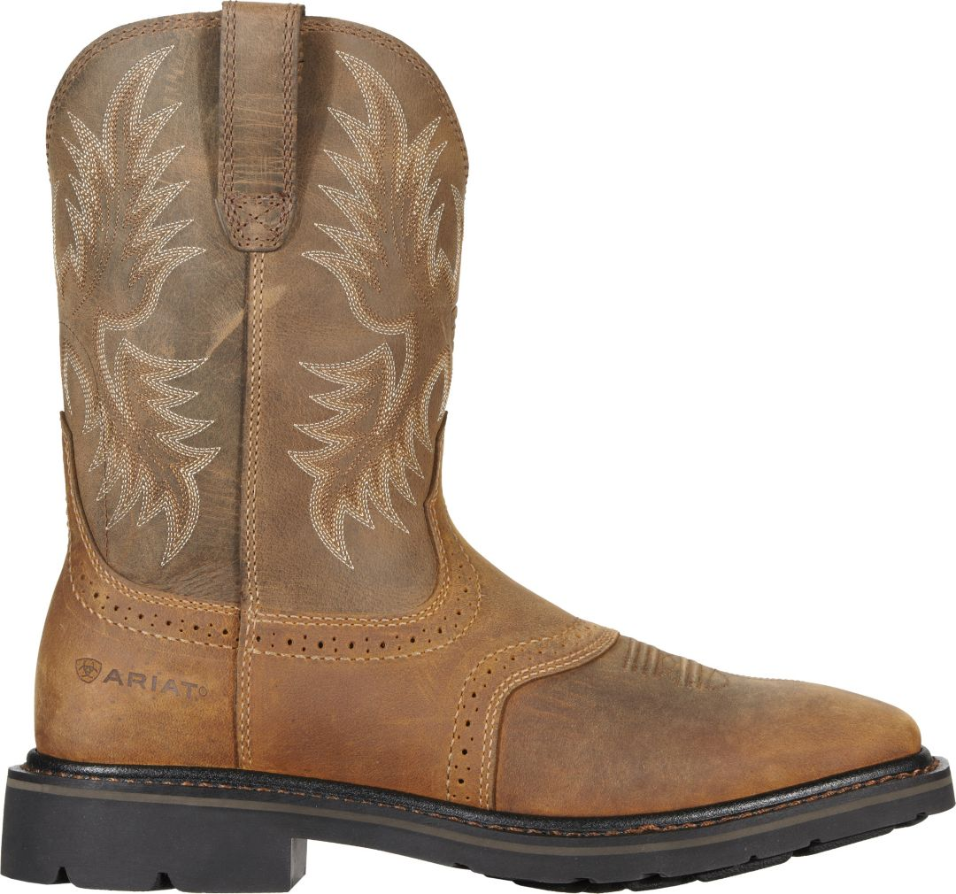 64a19f62236 Ariat Men's Sierra Safety Toe Wide Work Boots