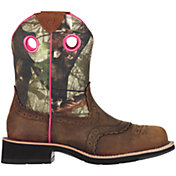 Ariat Women's Fatbaby Camo Western Boots