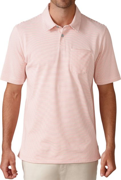 Ashworth Jersey Mini Stripe Pocket Polo