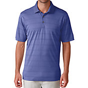 Ashworth Men's Plaited Interlock Stripe Golf Polo