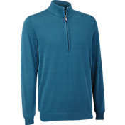 Ashworth Pima Cotton 1/2-Zip Sweater