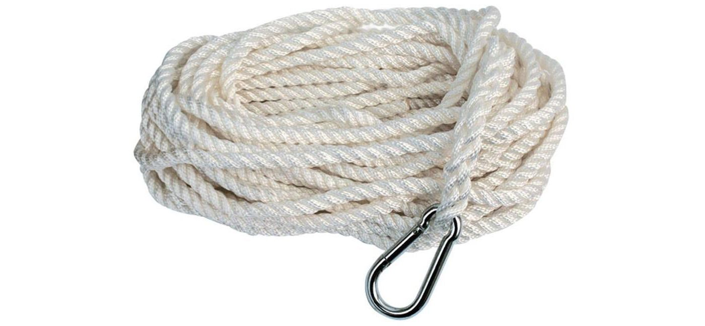 Attwood Premium Twisted Nylon Anchor Line with Hook
