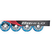 Mission HI-LO HL:2 Indoor/Outdoor Roller Hockey Wheels – 4 Pack