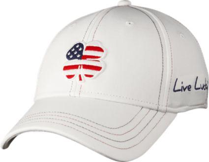 Black Clover Men s USA Luck  2 Golf Hat. noImageFound 0e972fd0b88