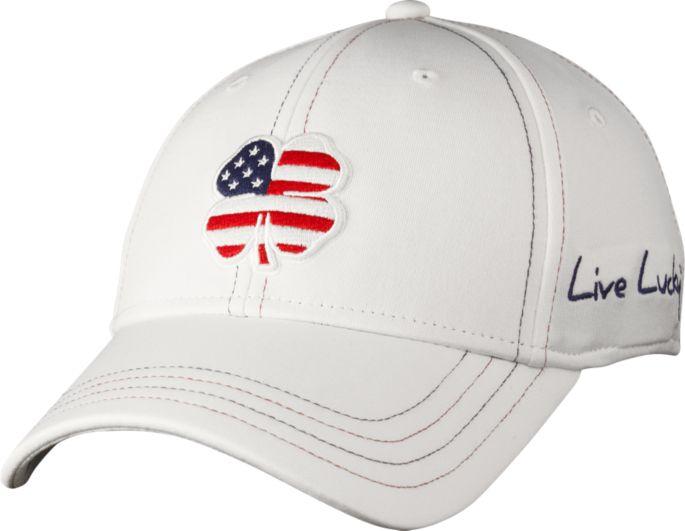c69eda40 Black Clover Men's USA Luck Hat | Golf Galaxy