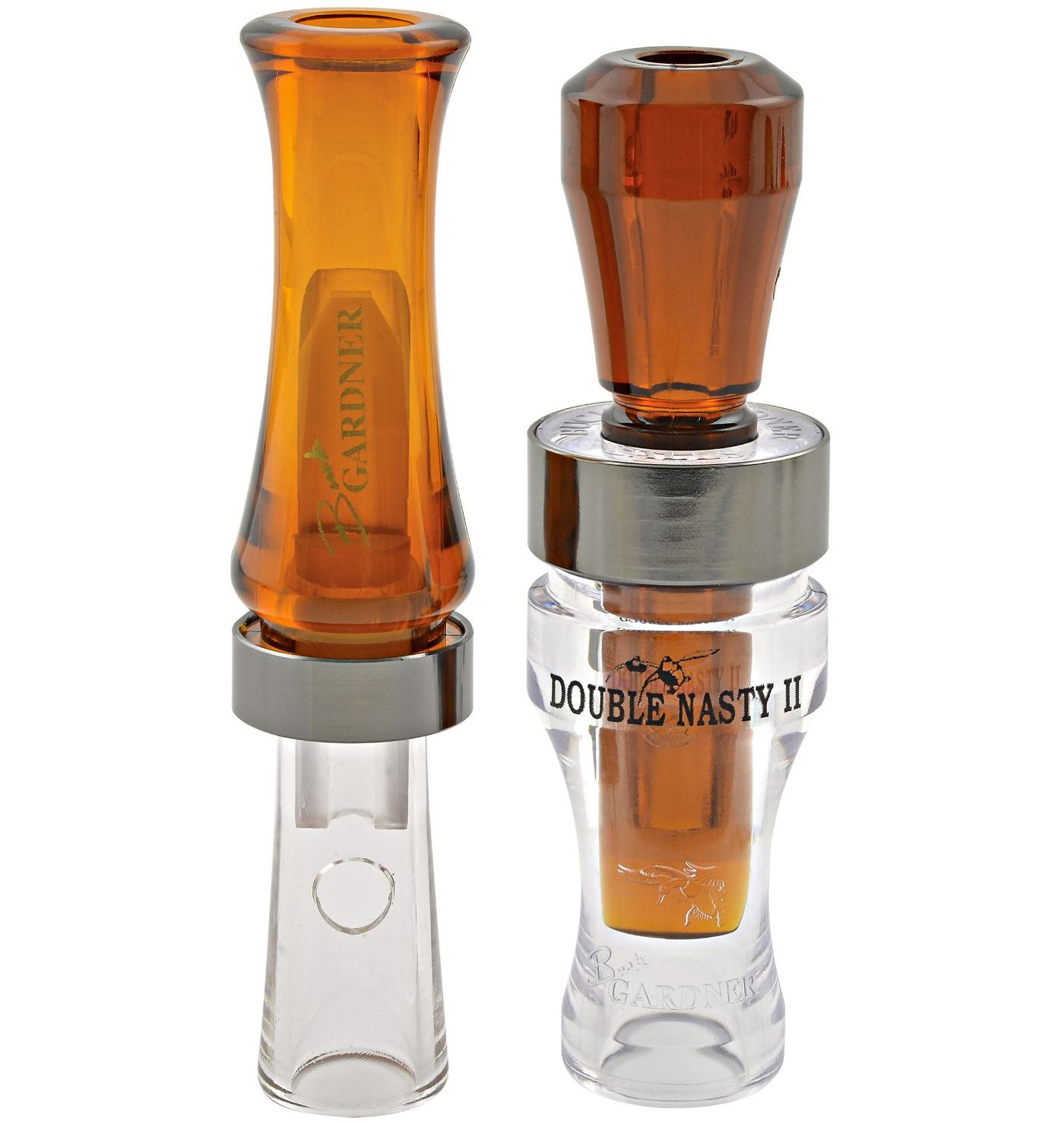 Buck Gardner Timber Pack - Double Nasty and Wood Duck Calls
