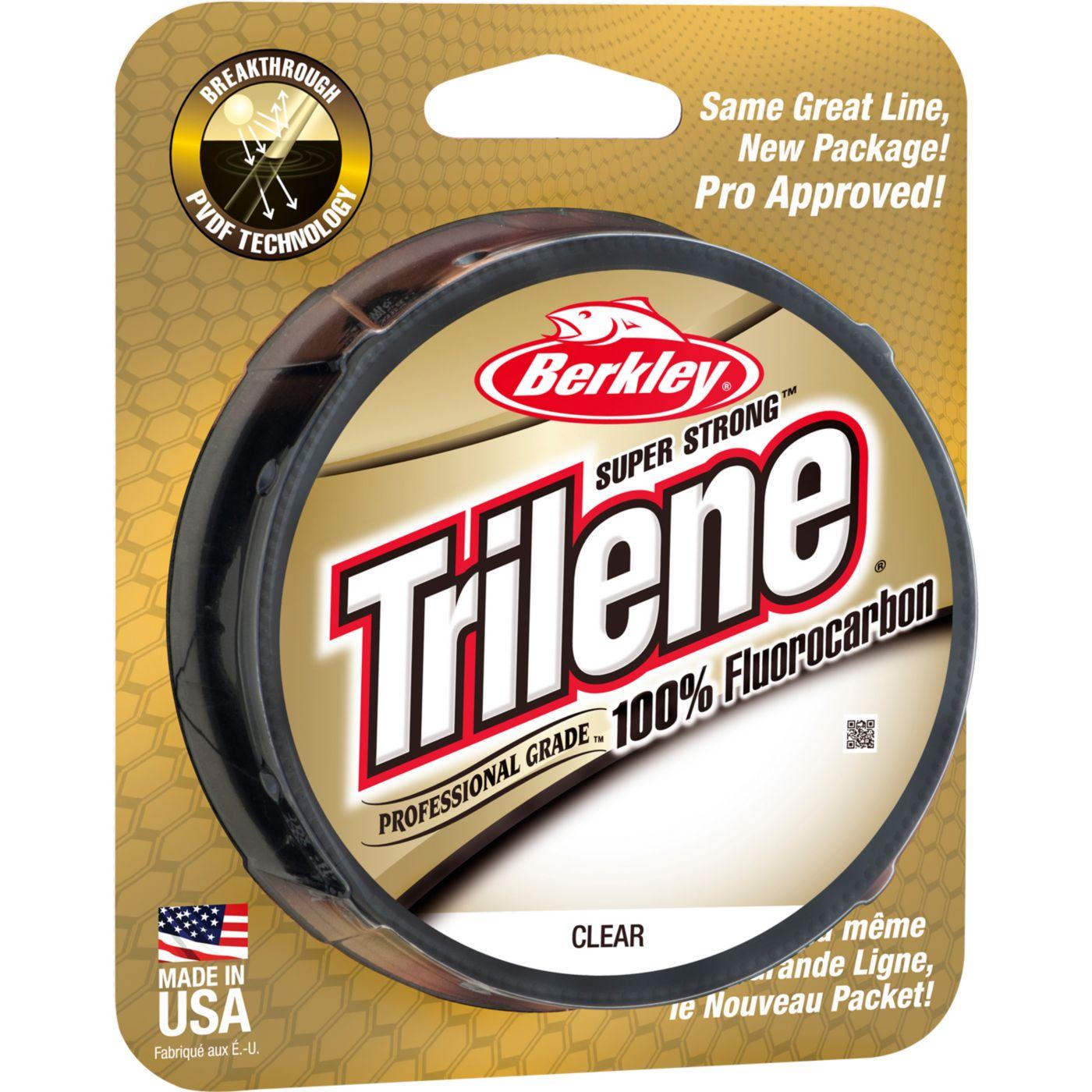Berkley Trilene 100% Fluoro Professional Grade Clear Fishing Line