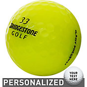 Bridgestone Lady Precept Optic Yellow Personalized Golf Balls