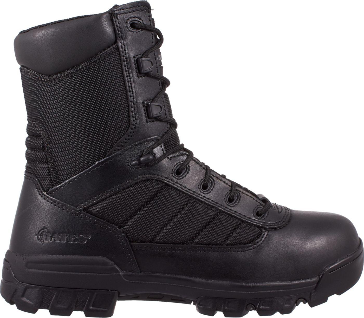 Bates Men's Enforcer Side Zip Wide Work Boots