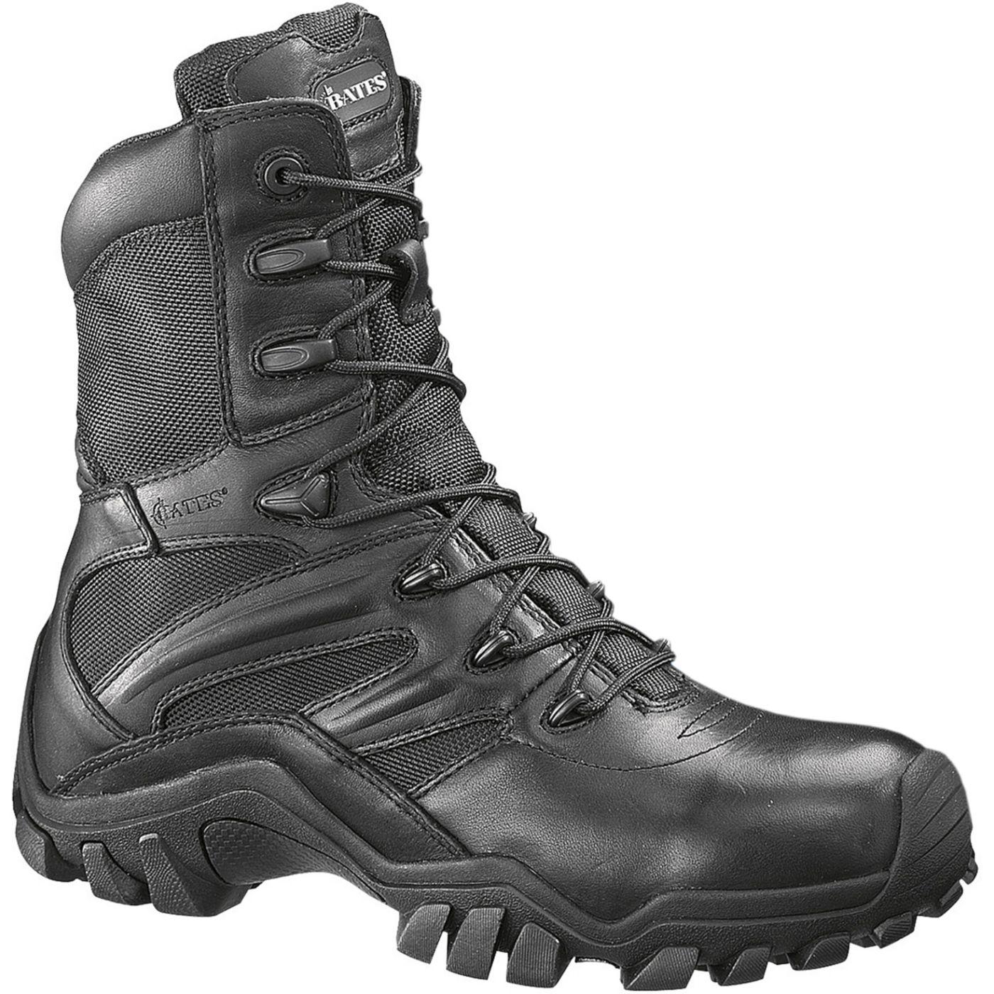 """Bates Men's Delta 8"""" Side Zip Work Boots"""