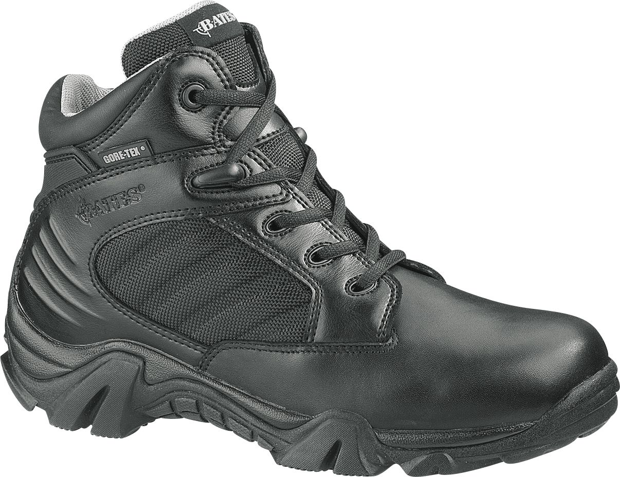 Bates Women's GX-4 4″ GORE-TEX Work Boots, Black