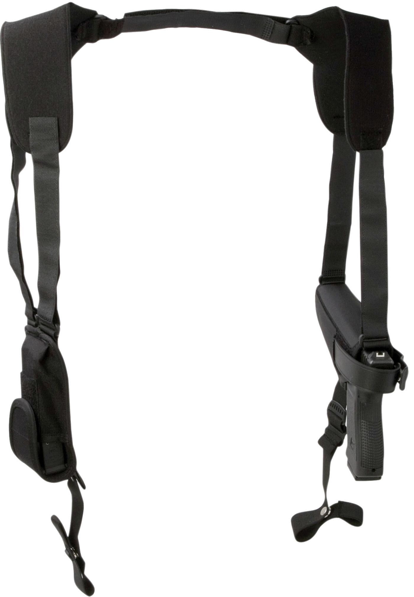 Uncle Mike's Pro-Pak Ambidextrous Horizontal Shoulder Holsters