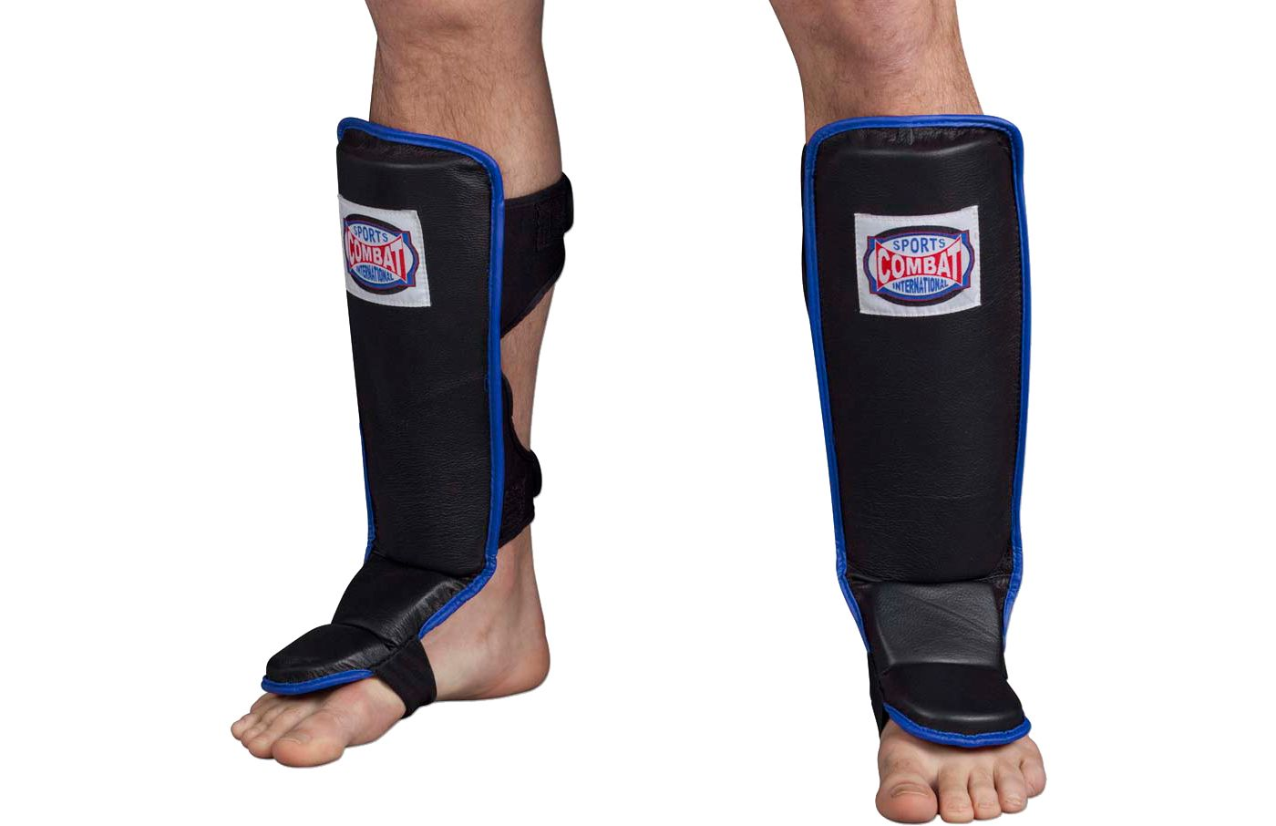 Combat Sports Hook and Loop MMA Shin Guards