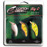 Cotton Cordell Big-O Triple Threat Crankbait Kit
