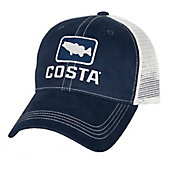 Costa Del Mar Men's Bass Trucker Hat
