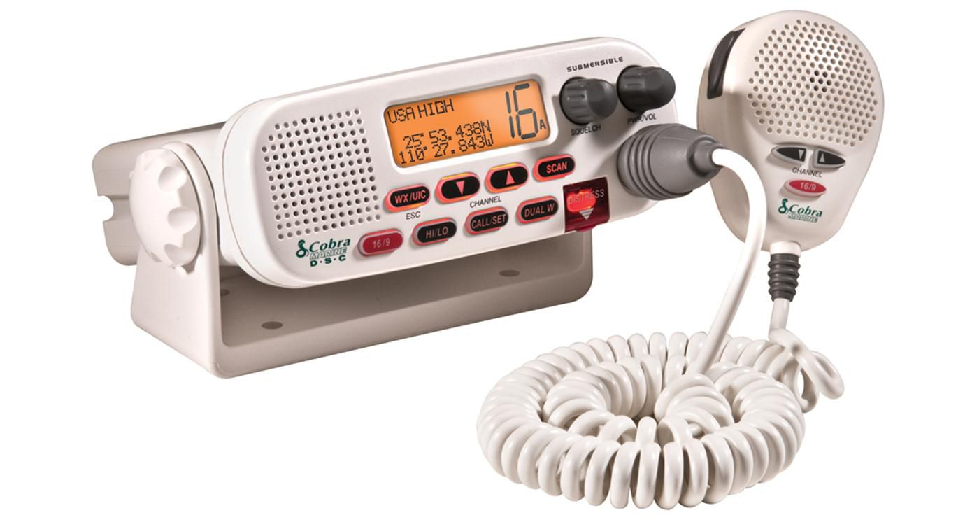 Cobra 25 Watt Class-D Fixed Mount VHF Radio