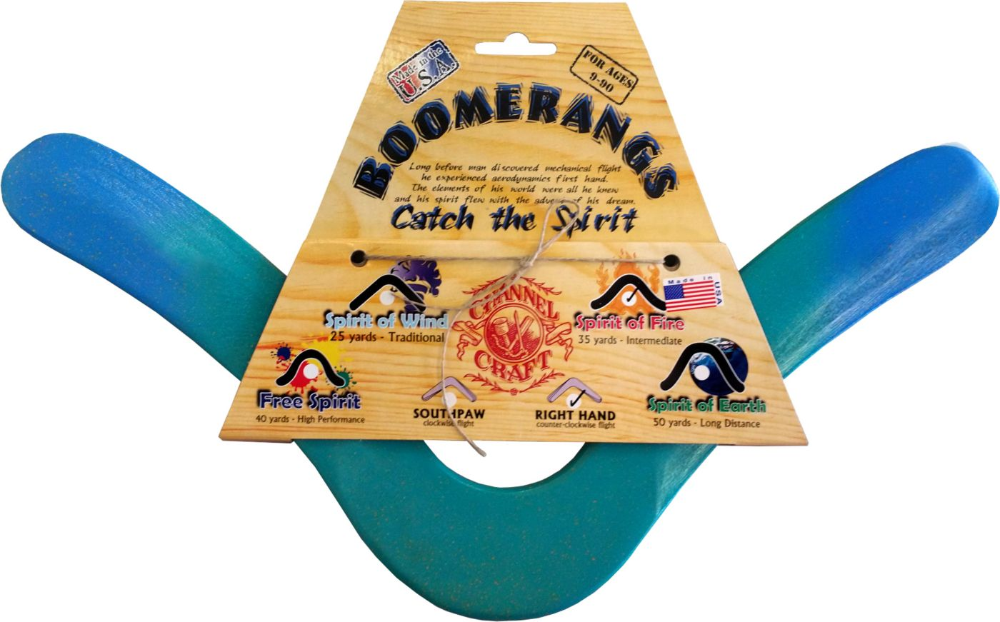 Channel Craft Graffiti Fire 'Rang Left-Handed Boomerang