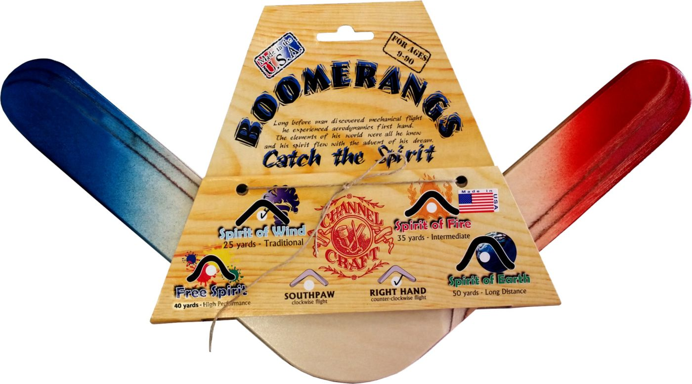 Channel Craft The Patriot Right-Handed Boomerang