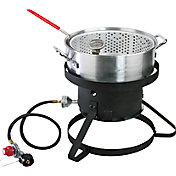 Cajun Injector 10-quart KD Gas Fish Fryer