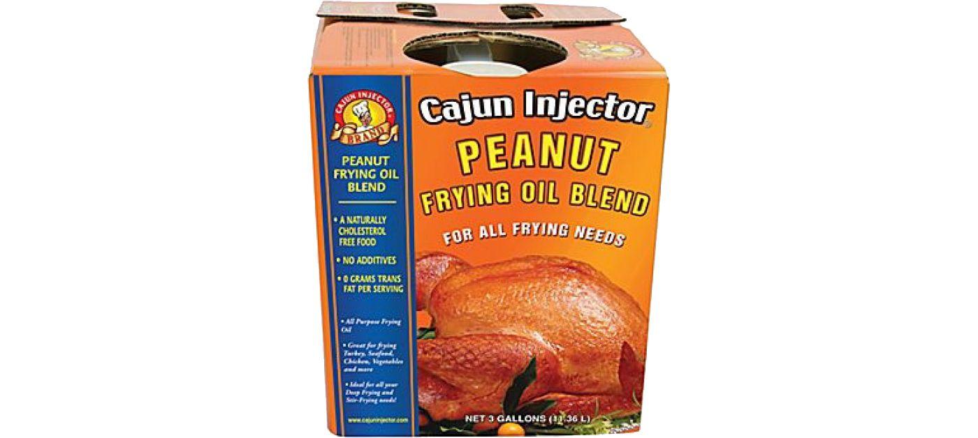 Cajun Injector Peanut Blend 3 Gallon Frying Oil
