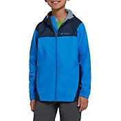 Columbia Boys' Glennaker Rain Jacket in Hyper Blue