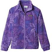 Columbia Girls' Benton Springs II Printed Fleece Jacket