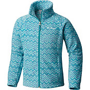 Columbia Girls' Benton Springs II Printed Fleece Jacket
