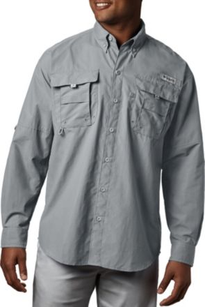 14f6dd97b5e Men's Gray Columbia Shirts | Best Price Guarantee at DICK'S