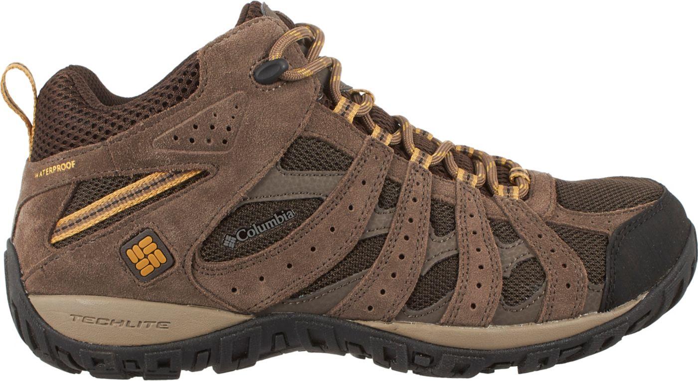 Columbia Men's Redmond Mid Waterproof Hiking Boots