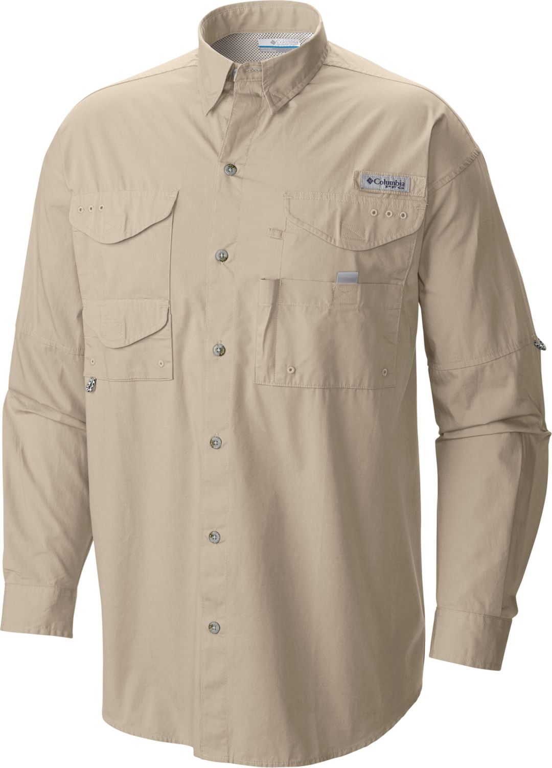 bdafb231 Columbia Men's PFG Super Bonehead Classic Long Sleeve Shirt | Field ...