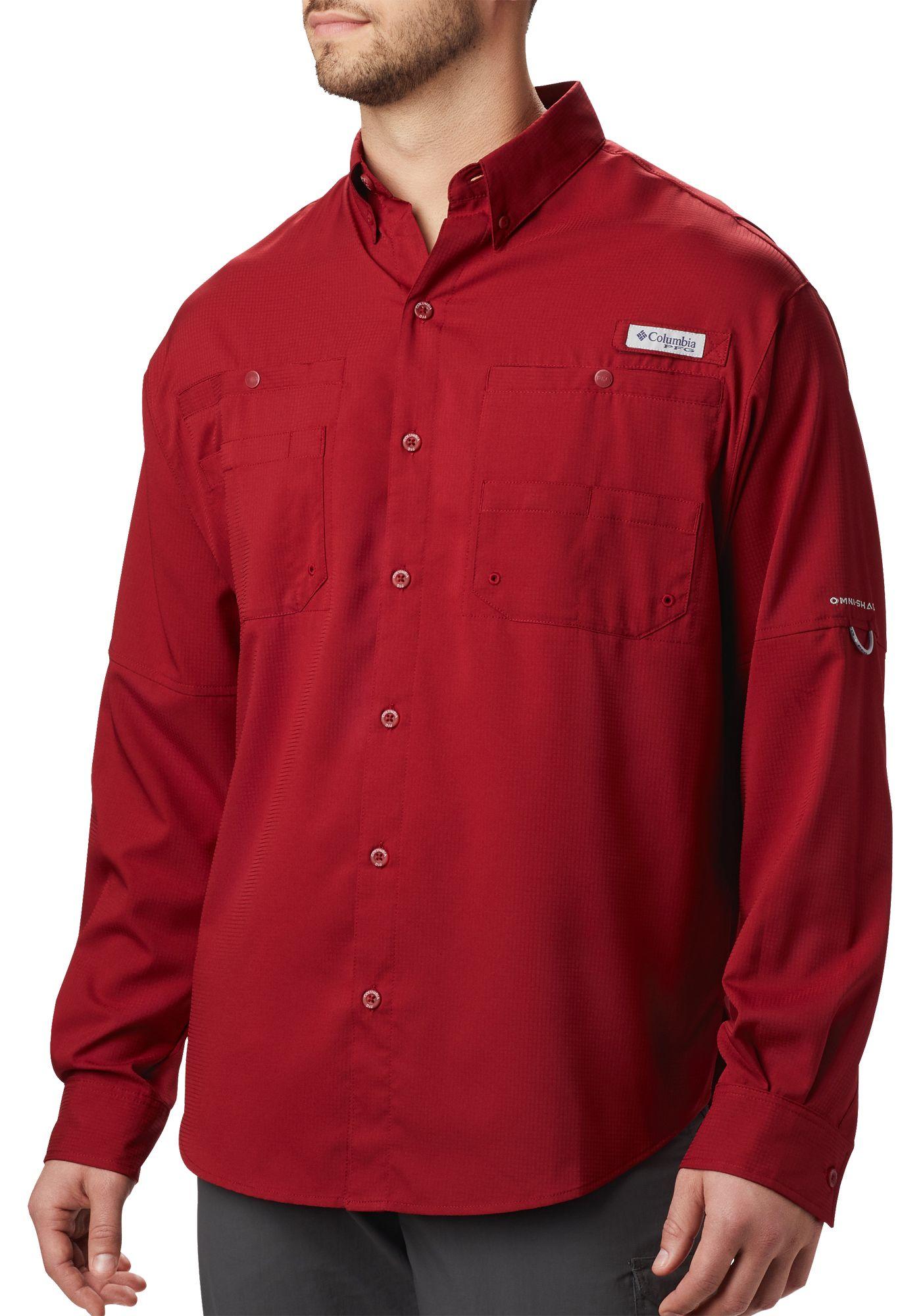 Columbia Men's Tamiami II Long Sleeve Shirt (Regular and ...