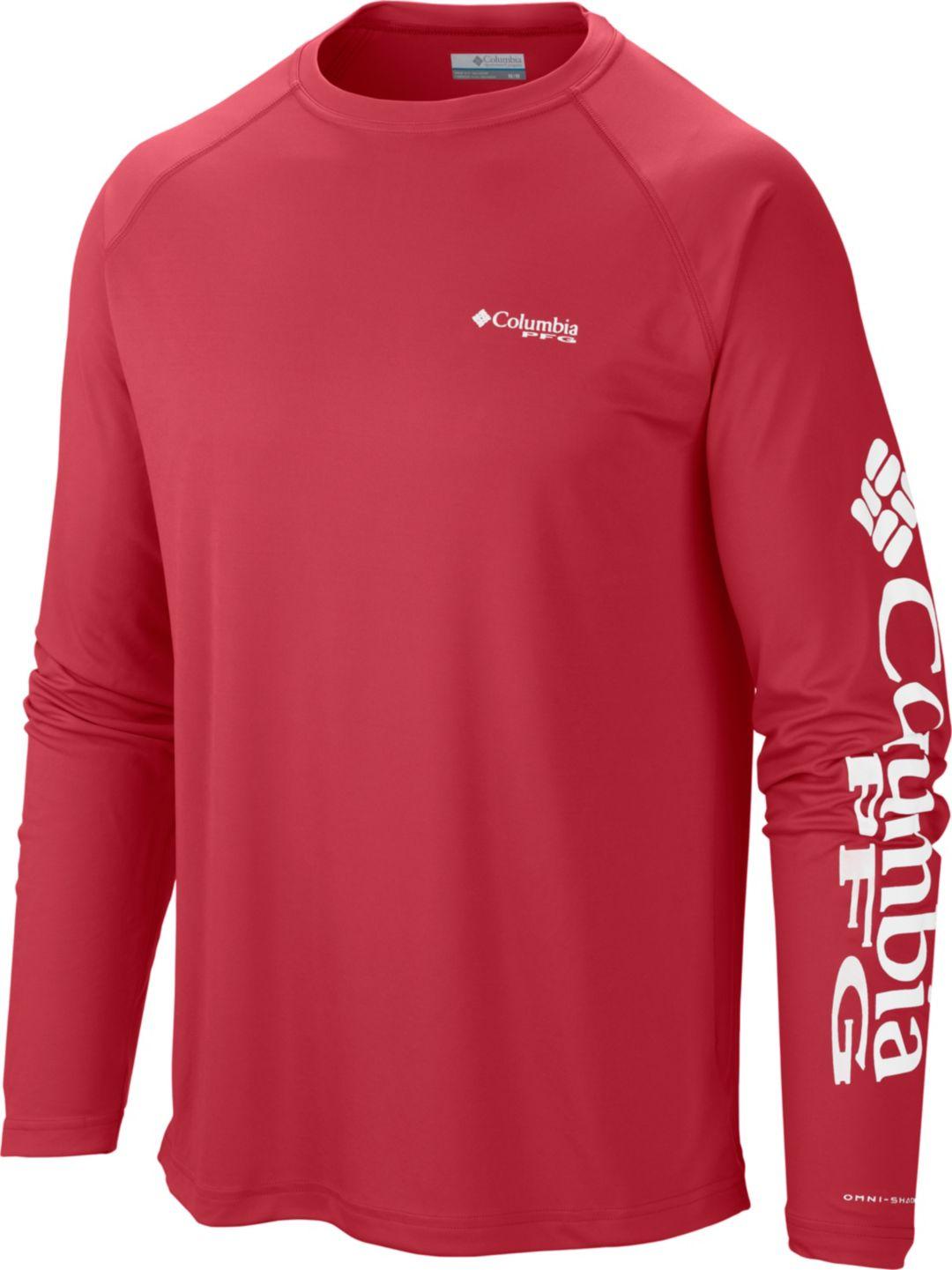 6b5c45ef Columbia Men's PFG Terminal Tackle Long Sleeve Shirt - Tall | DICK'S ...