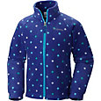 Columbia Toddler Girls' Benton Springs Printed Fleece Jacket