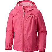 Columbia Toddler Girls' Switchback Rain Jacket in Pink Ice