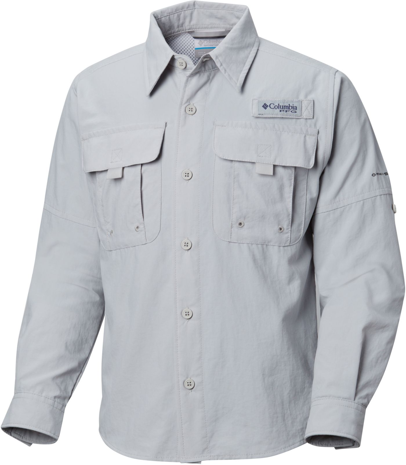 Columbia Boys' PFG Bahama Long Sleeve Shirt