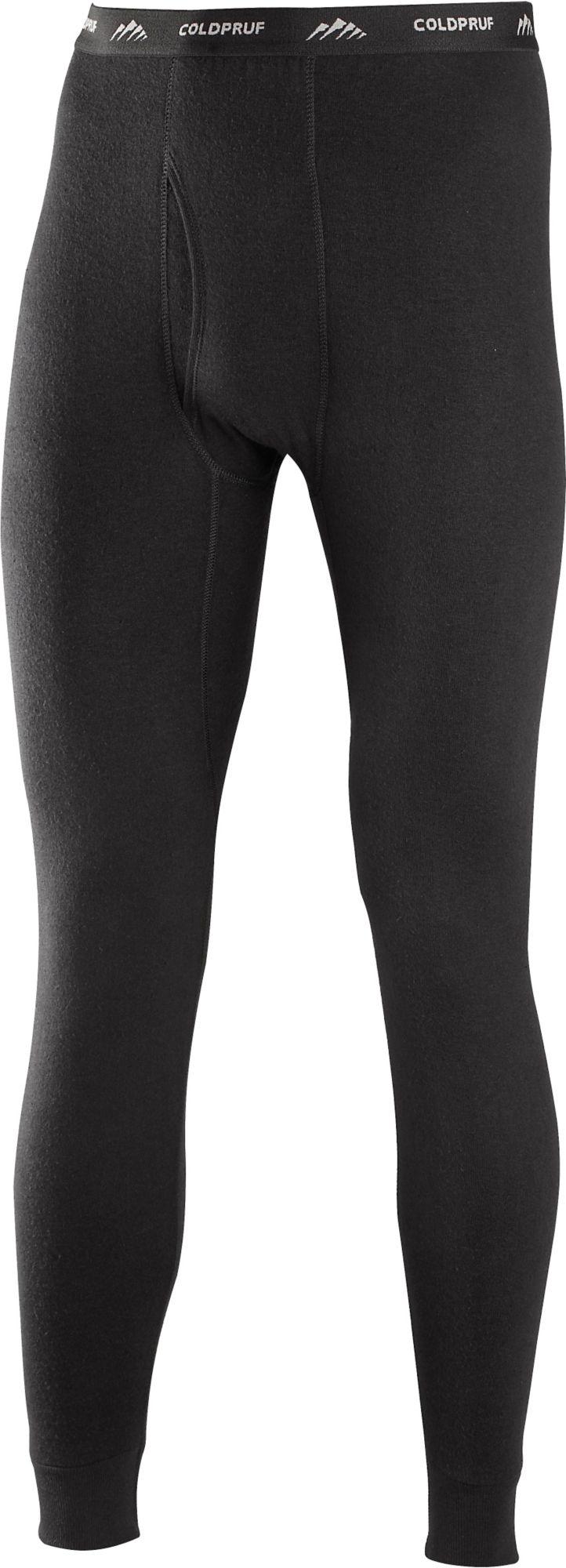 ColdPruf Men's Basic Base Layer Leggings, Size: Medium, Black thumbnail