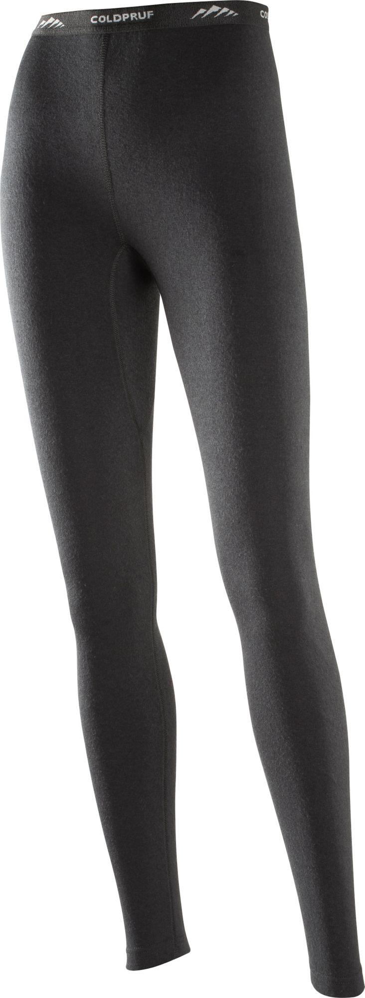 ColdPruf Women's Basic Base Layer Pants, Size: Small, Black thumbnail