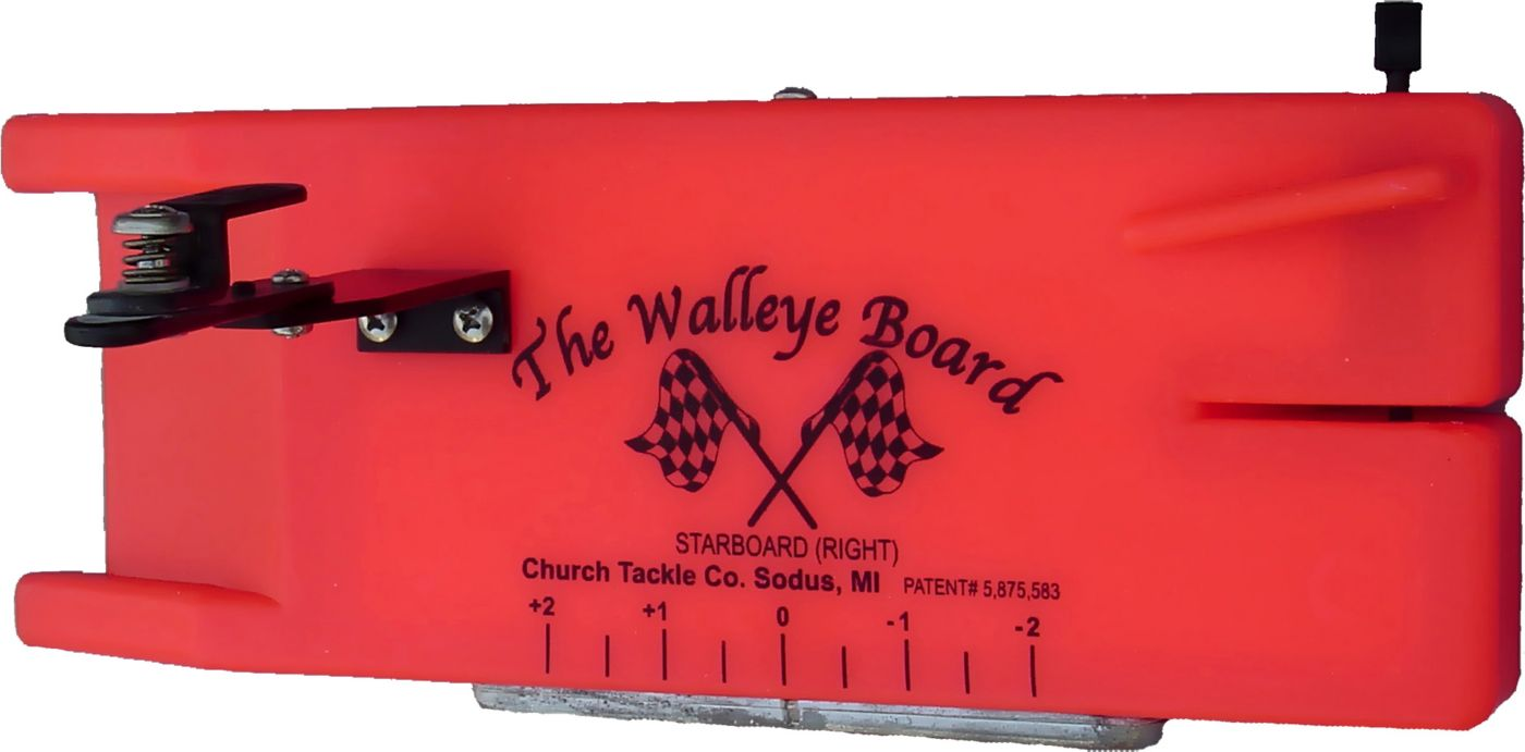 Church Tackle Mr. Walleye Starboard Side Planer Board